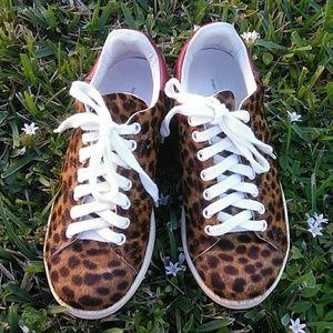 Isabel Marant Étoile Leopard Sneakers